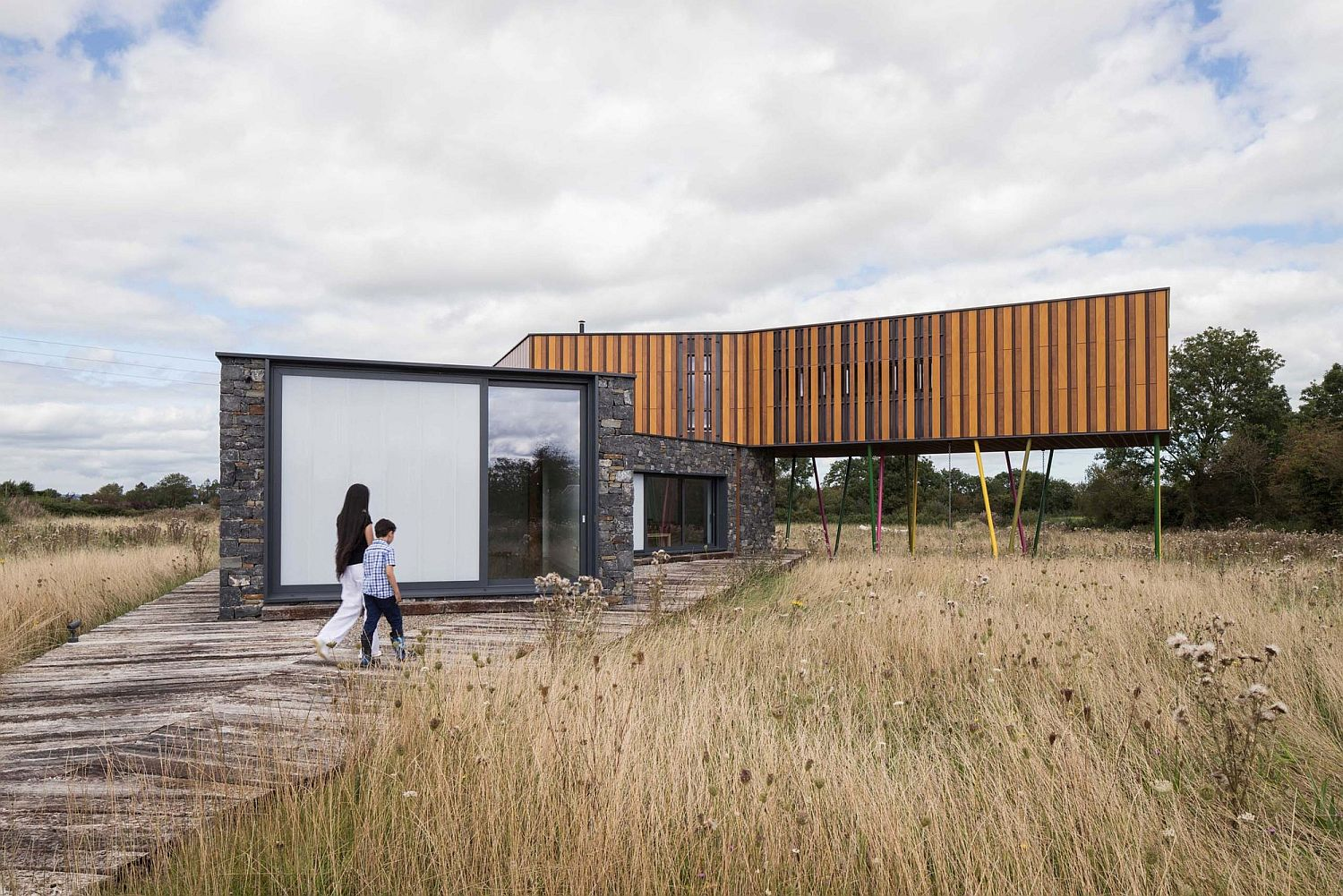 Meadow Dance House designed by John Curran Architects in Ireland
