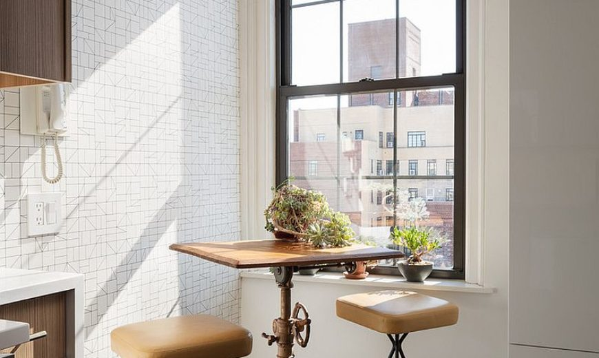 Space-Savvy Goodness: 10 Small Kitchens with Tiny Breakfast Zones