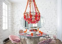 Whitewashed-brick-walls-and-colorful-decor-for-the-cool-shabby-chic-dining-room-217x155
