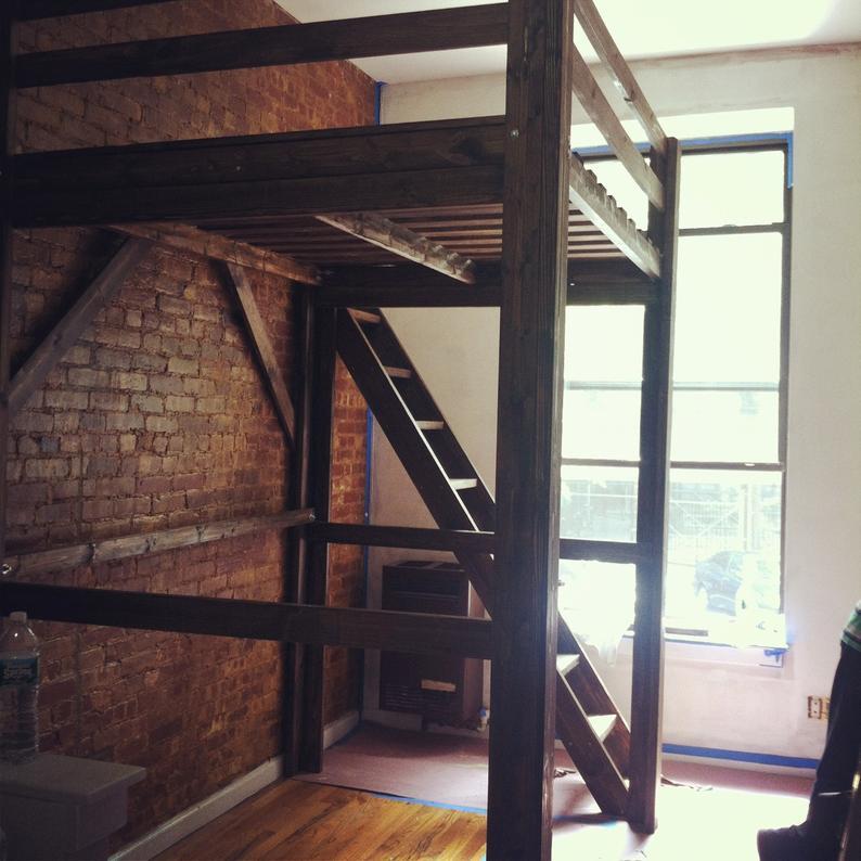 Chicago-Custom-Adult-Loft-Bed