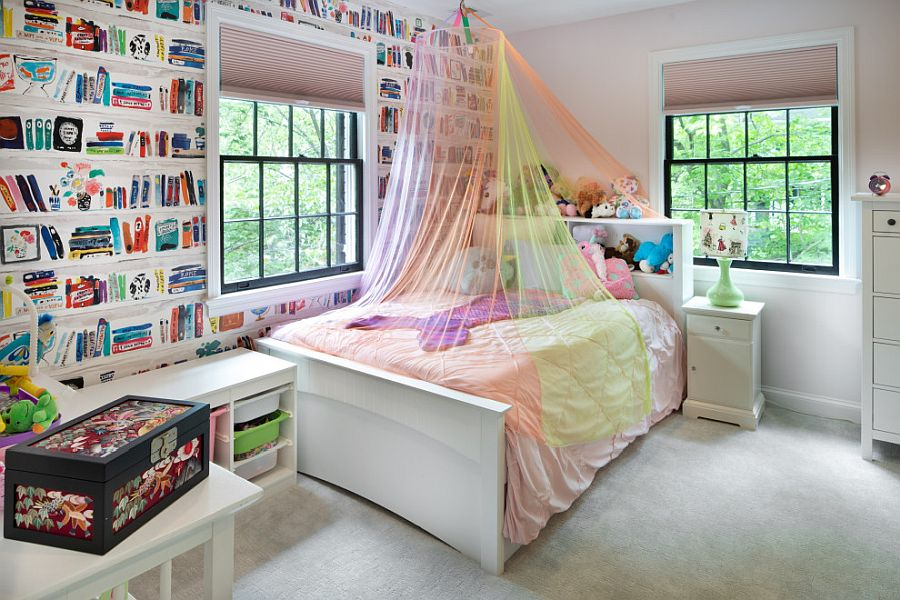 Design a kids' bedroom that grows along with them over time