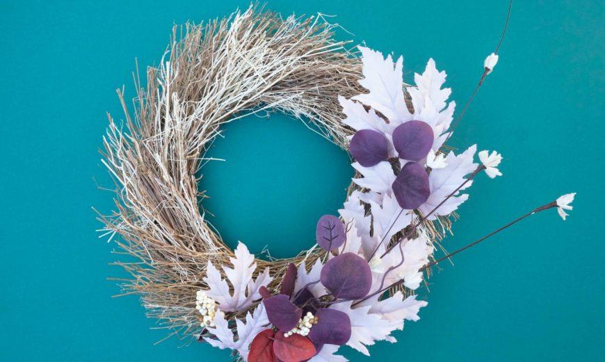 Modern Fall Wreaths for Design Lovers