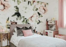 Gorgeous-white-and-pink-girls-bedroom-with-floral-theme-217x155