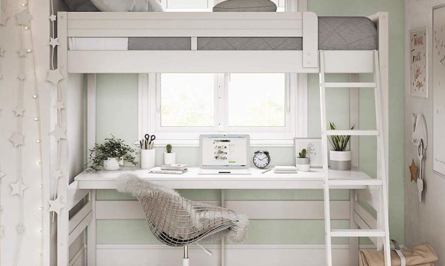 Adult Loft Bed Creations For Apartment Living And Other Small Spaces