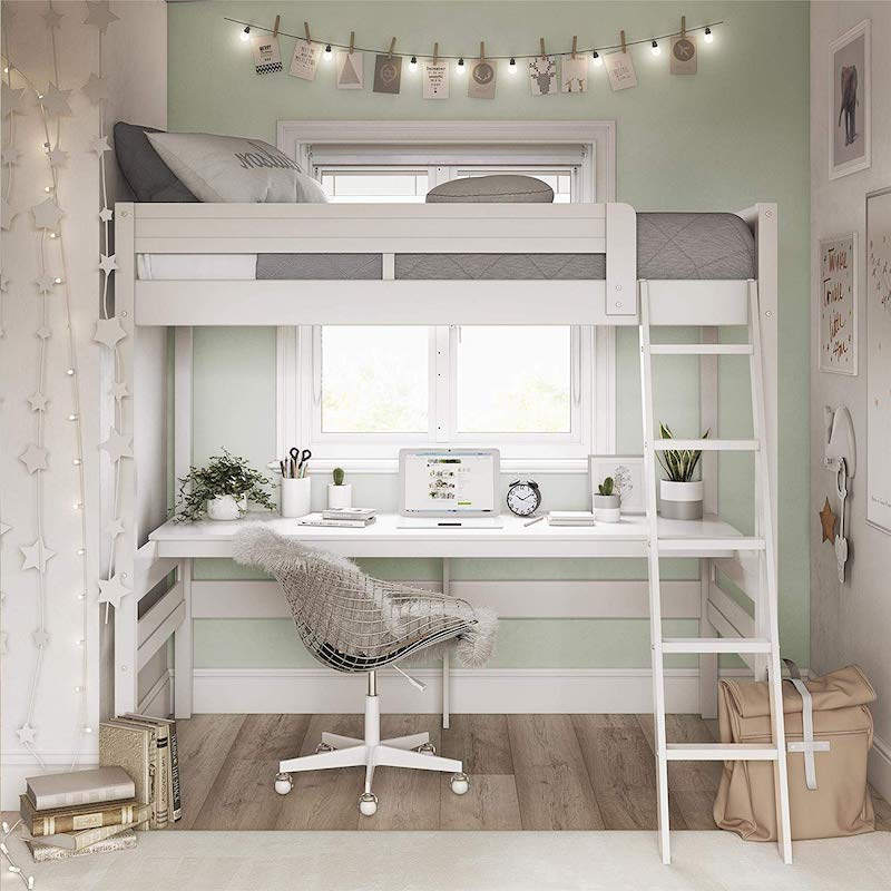 Loft Bed With Worth Station