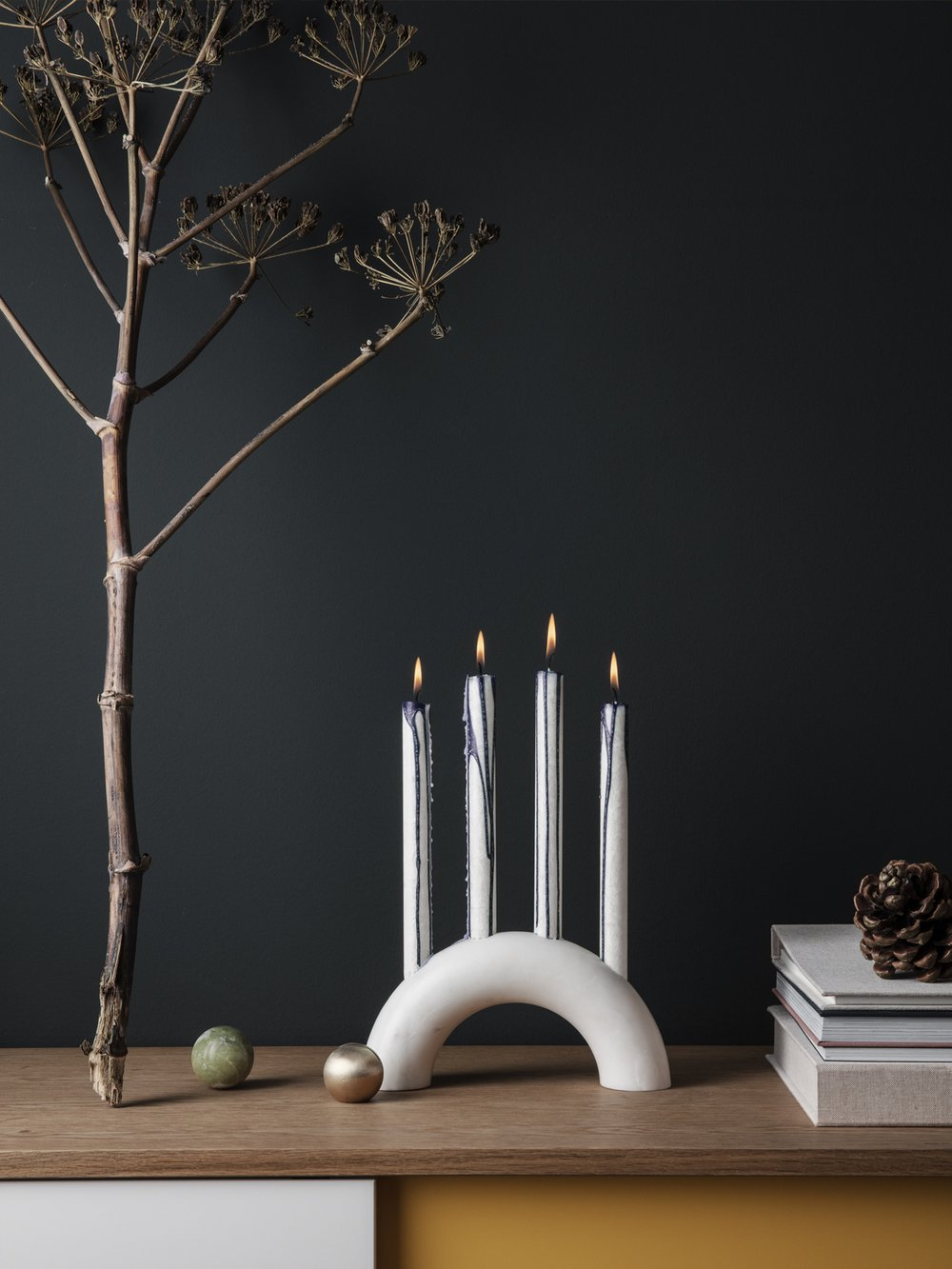 Modern candelabra from ferm LIVING