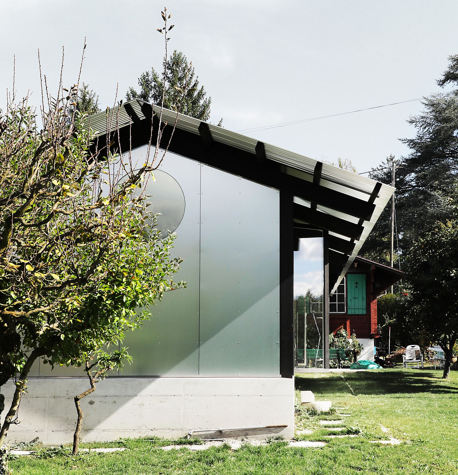 Permanent Weekend House On Outskirts Of Geneva: Old Chalet