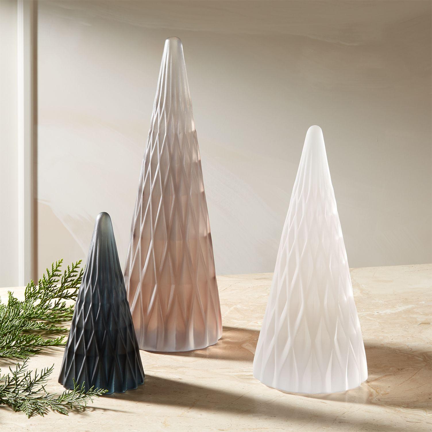 Modern resin trees from CB2