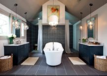 Modern-take-on-the-classic-chandelier-for-the-bathroom-217x155