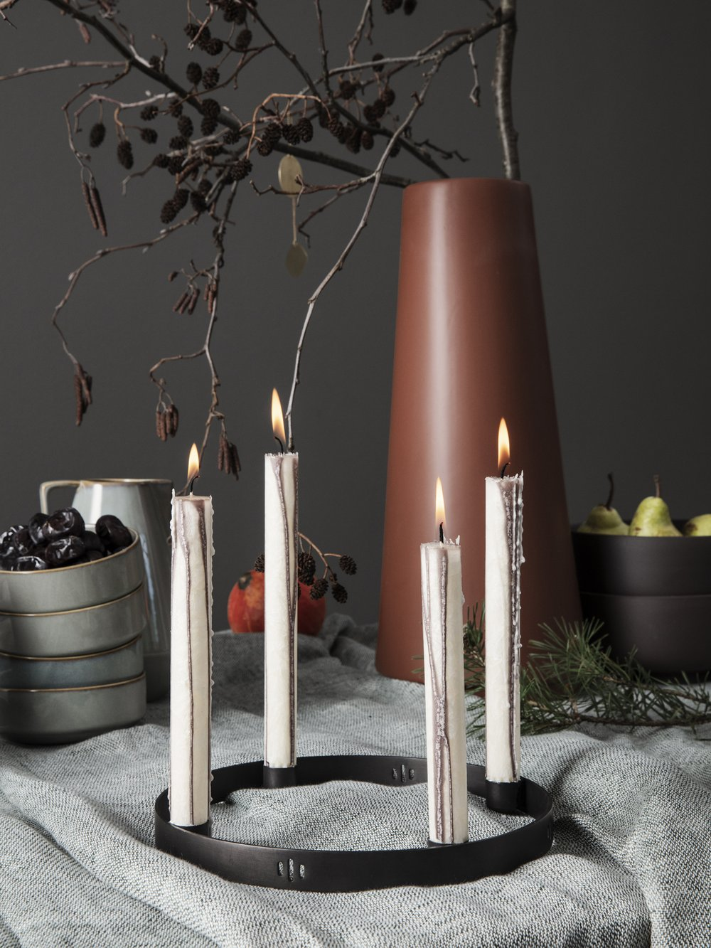 Modern taper candles from ferm LIVING