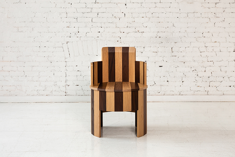 Modern wooden chair from Fort Standard