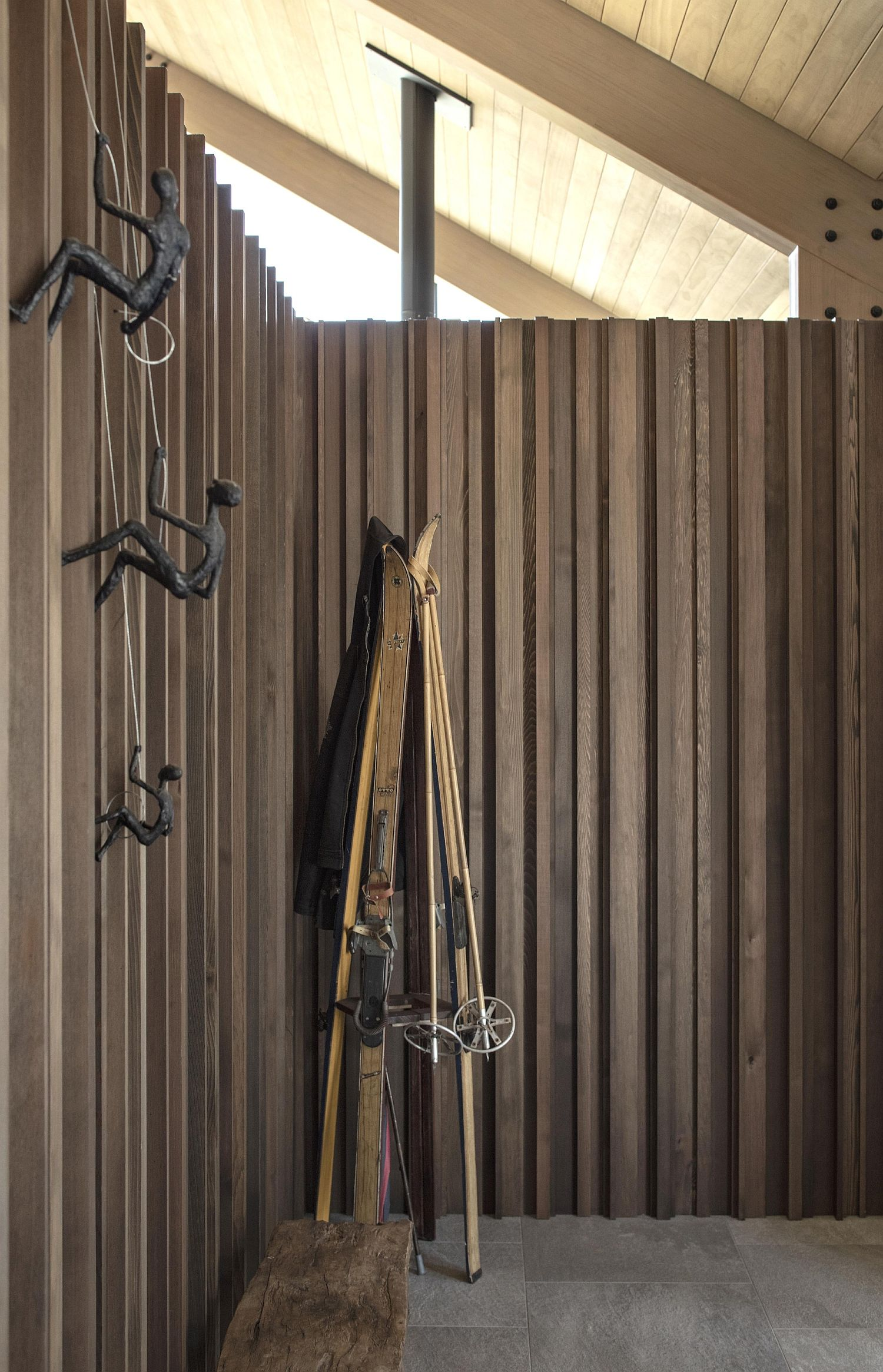 Outdoor spaces around the Wanaka House
