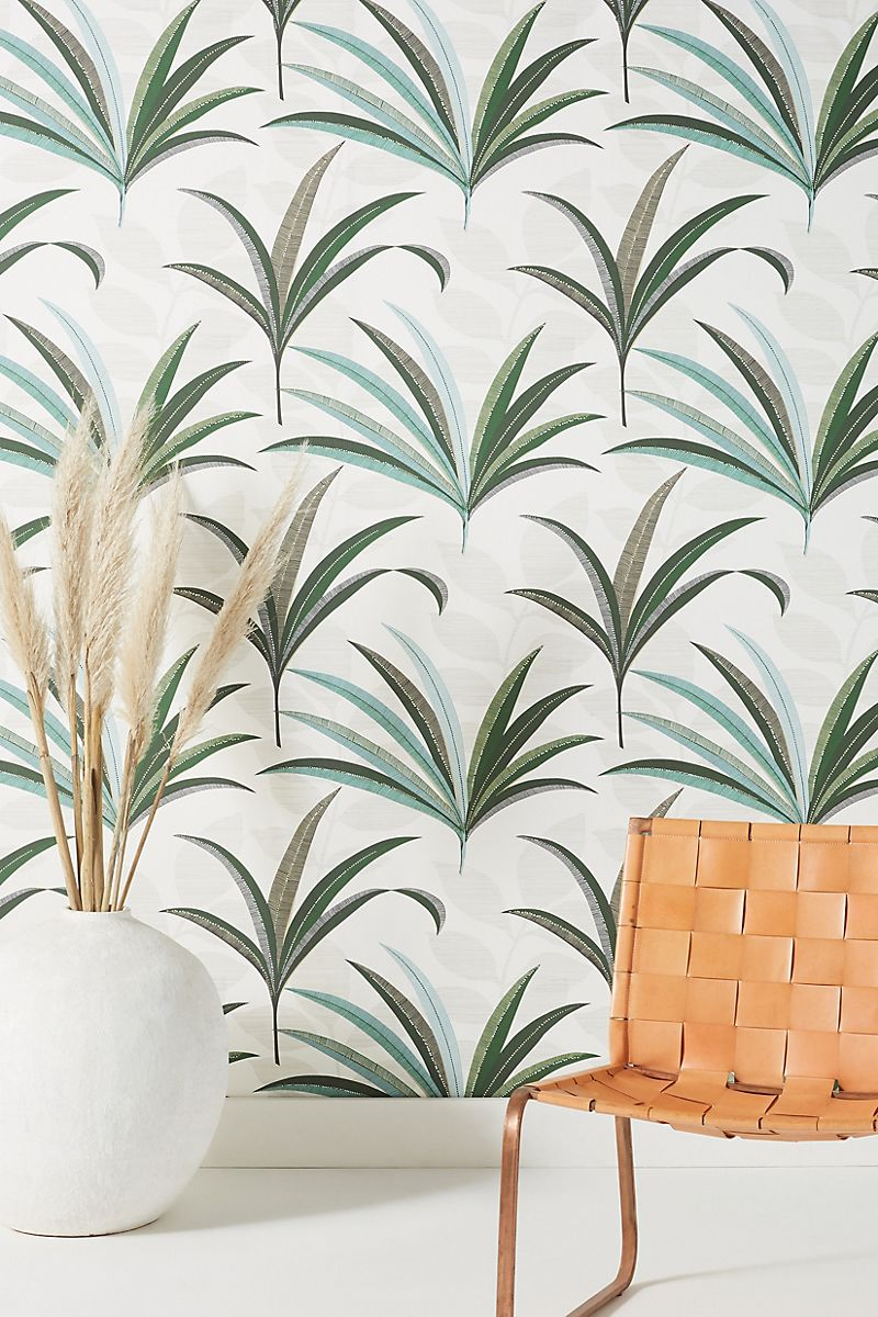 cool wallpaper with palm tree pattern
