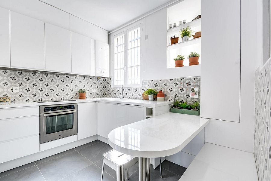 Plants-bring-green-sophistication-and-freshness-to-the-kitchen-in-white
