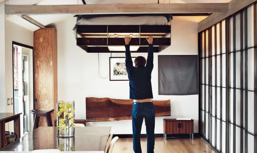 Pull-down-bed-Loft-Design-Small-Space-870x520