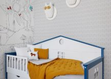 Small-and-stylish-bed-in-the-kids-bedroom-is-also-a-space-saver-217x155