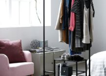 Standalone-storage-unit-on-wheels-offers-ample-space-for-your-budding-wardrobe-collection-217x155