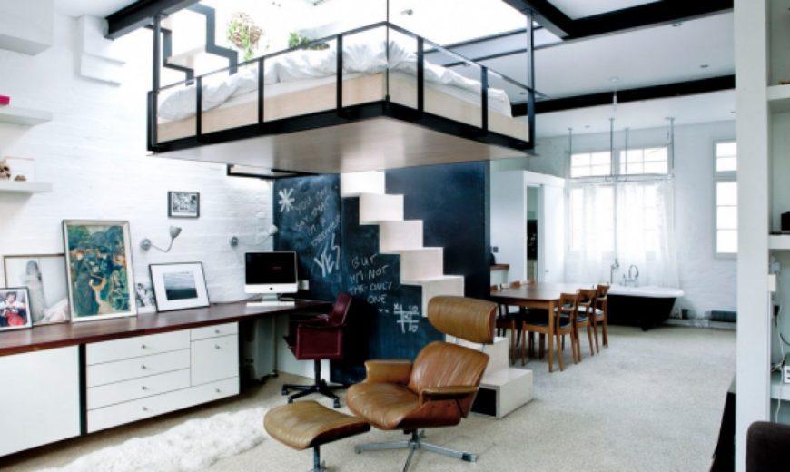 Super-modern-skylight-adult-loft-bed-1-870x520