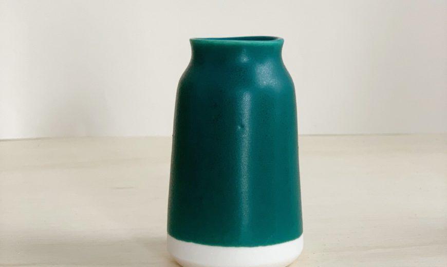 Teal-and-white-milk-bottle-vase-870x520
