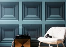 Teal-geo-wallpaper-with-a-square-motif-217x155