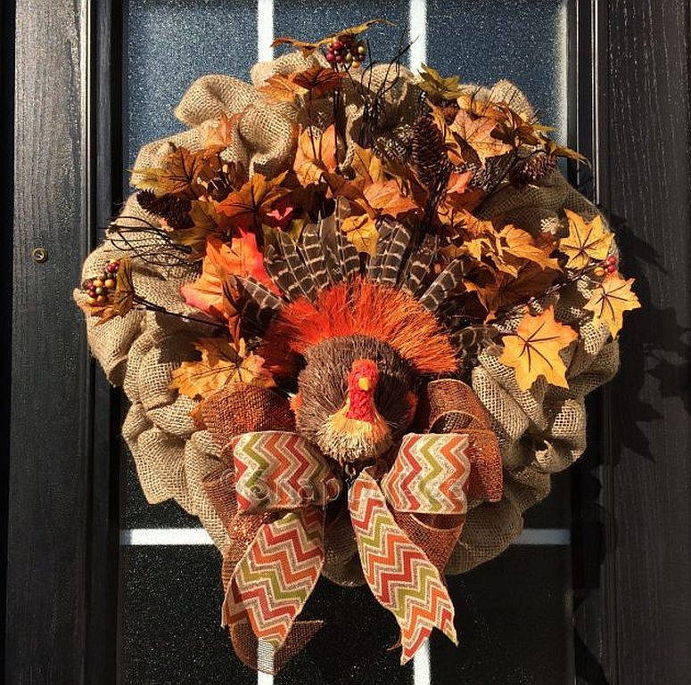 Turkey on the front door with a difference!