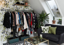 Wallpaper-in-the-backdrop-adds-color-to-the-standalone-closet-unit-217x155