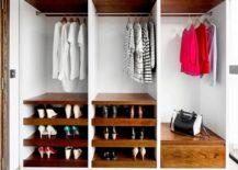 Wooden-shelves-for-the-small-closet-in-white-brings-warmth-and-freshness-217x155