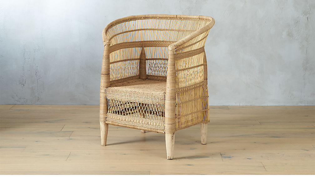 Woven Malawi chair from CB2