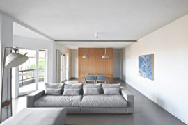 The 'Bow Window House': An Interior Redesign Project In The Heart Of Rome