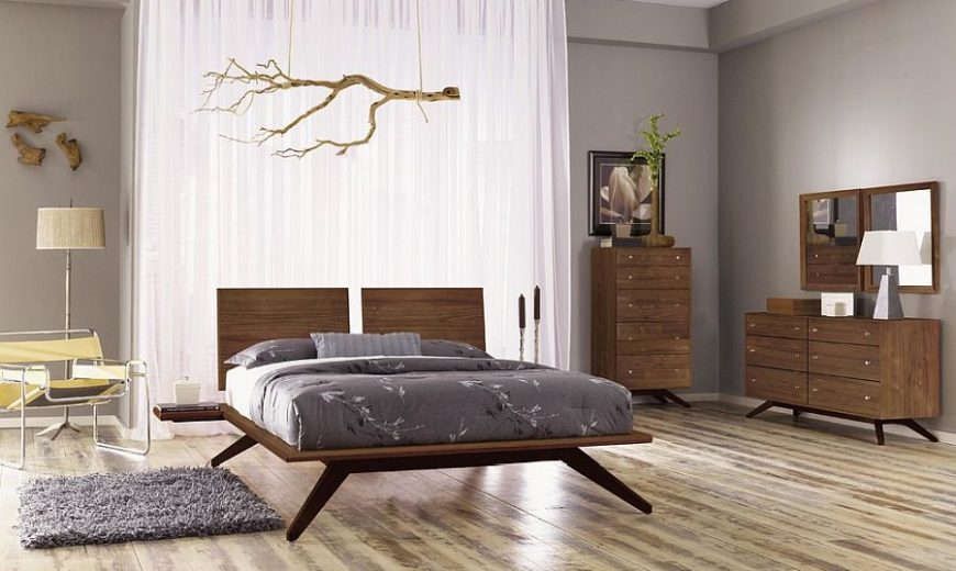 Bed Frame Designs that Fit in with All Styles: 25 Trendy Ideas, Photos
