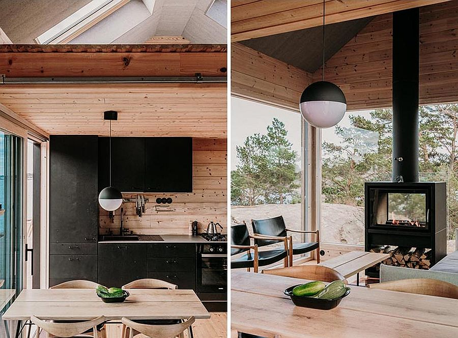 Black-accents-and-cabinets-through-out-the-cabin-anchor-it-and-provide-visual-contrast