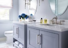 Bluish-gray-for-the-bathroom-vanities-and-walls-makes-for-a-lovely-tiny-bathroom-with-modern-beach-style-217x155