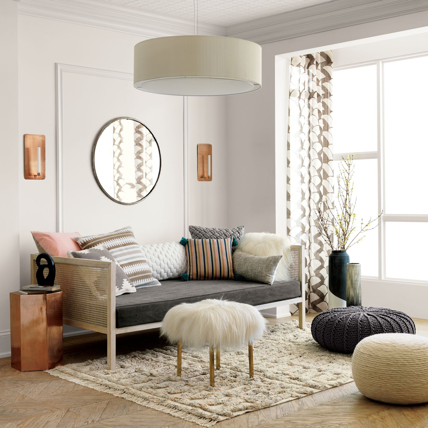 Boho daybed from CB2