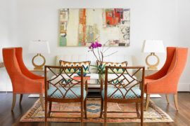 Simply Stunning: 25 Brilliant Ways to Add Color Using Wall Art