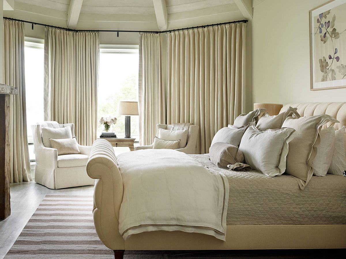 Comfy-tufted-sleigh-bed-is-a-rare-find-that-adds-luxury-to-the-bedroom-with-festive-charm