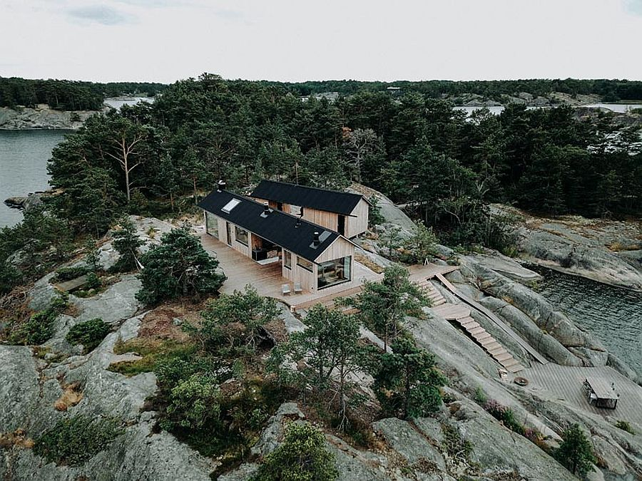 Contemporary-cabins-on-Finnish-island-with-fabulous-natural-views-all-around