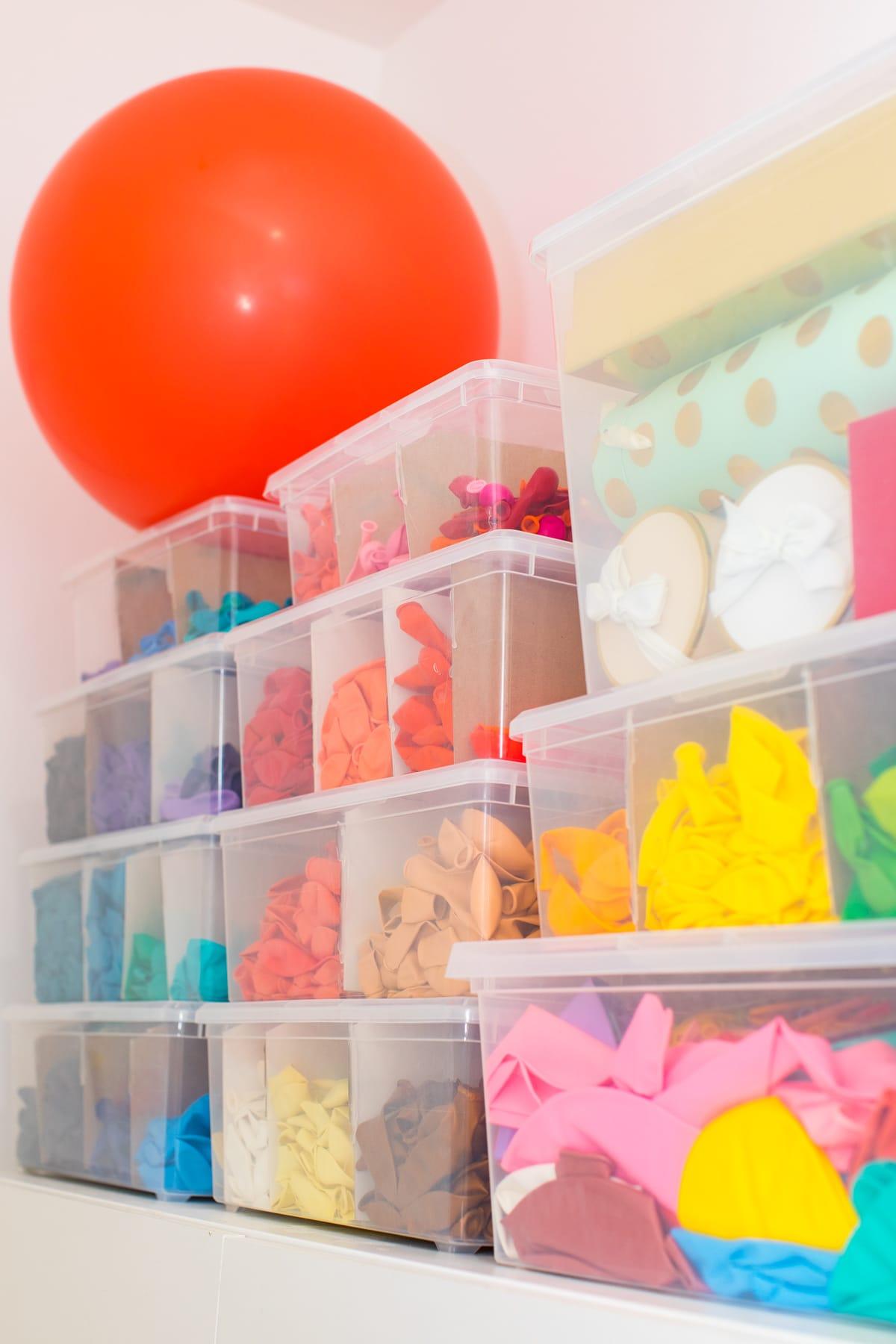 Craft-closet-organization