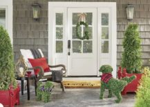 Christmas Porch Decorations From Garlands And Wreaths To Lights