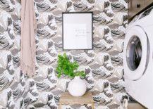 Custom-wallpaper-with-coastal-vibe-for-the-small-laundry-room-217x155