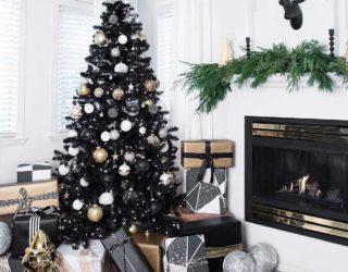 Black is the New Festive: Black Christmas Trees Steal the Spotlight