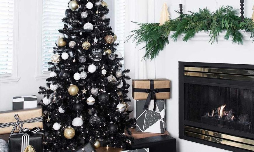 Black is the New Festive: Black Christmas Trees Steal the Spotlight