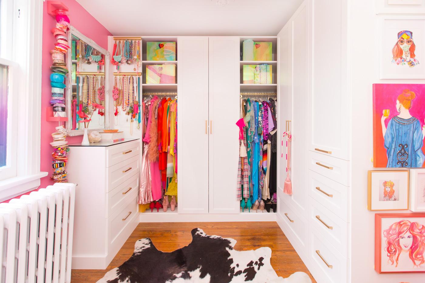 Designer-Tiffany-Pratts-pink-closet