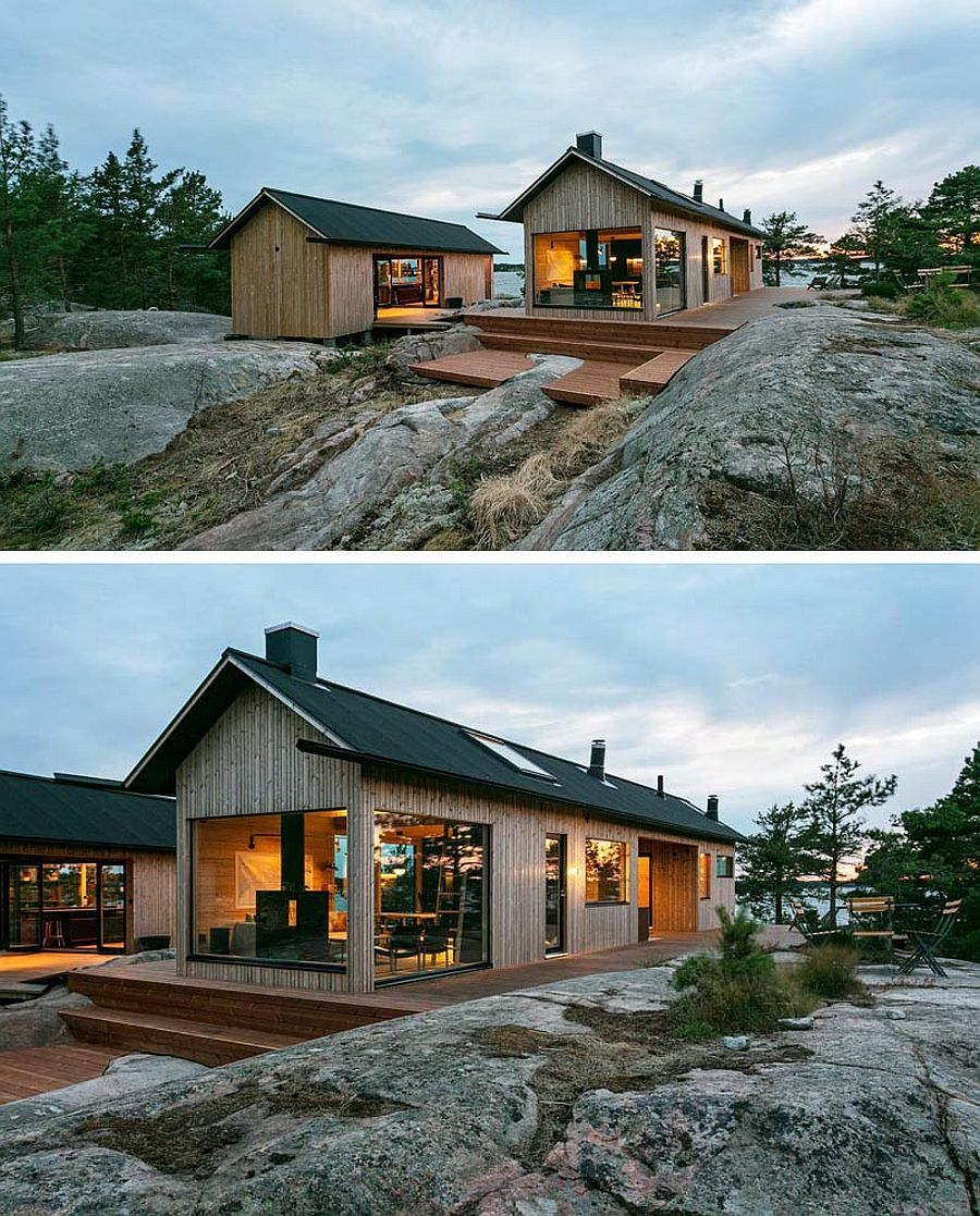 Scandinavian Style Contemporary Cabins Combine Awesome
