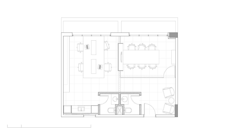 Floor plan of AB&D Office in Brazil