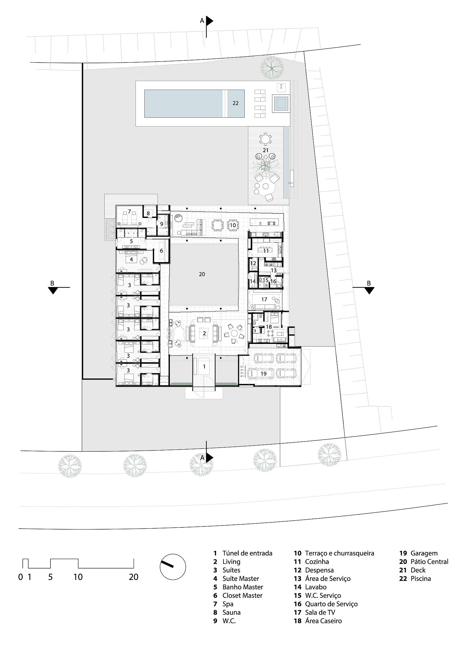 Floor-plan-of-the-Tunnel-House-in-Brazil