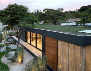 Budget Prefab Powered by Green Energy Made from Recycled Materials