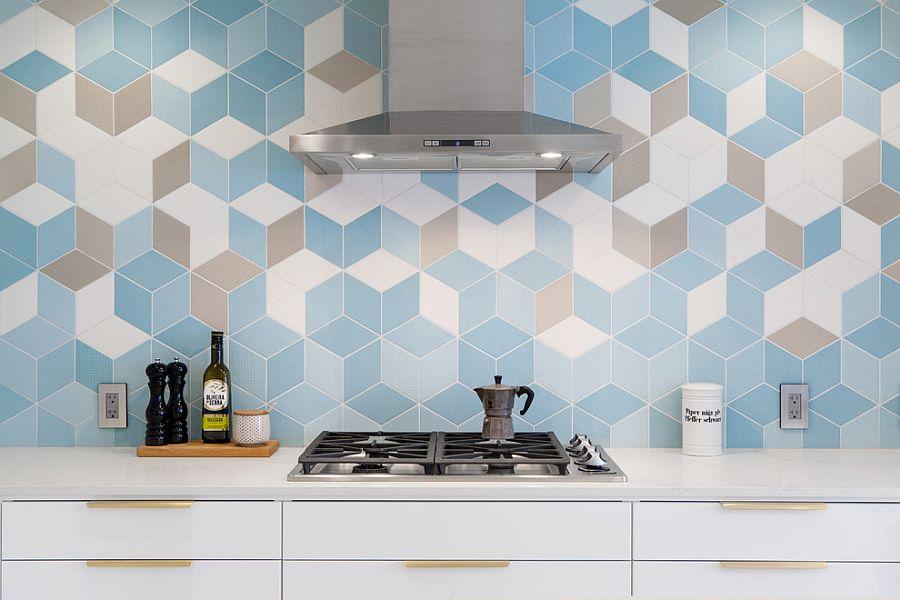 25 Stunning New Kitchen Backsplash Ideas: Marble, Lively and Glassy!