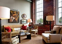 Large-traditional-windows-bring-ample-light-into-the-eclectic-living-room-with-classic-decor-and-brick-walls-217x155