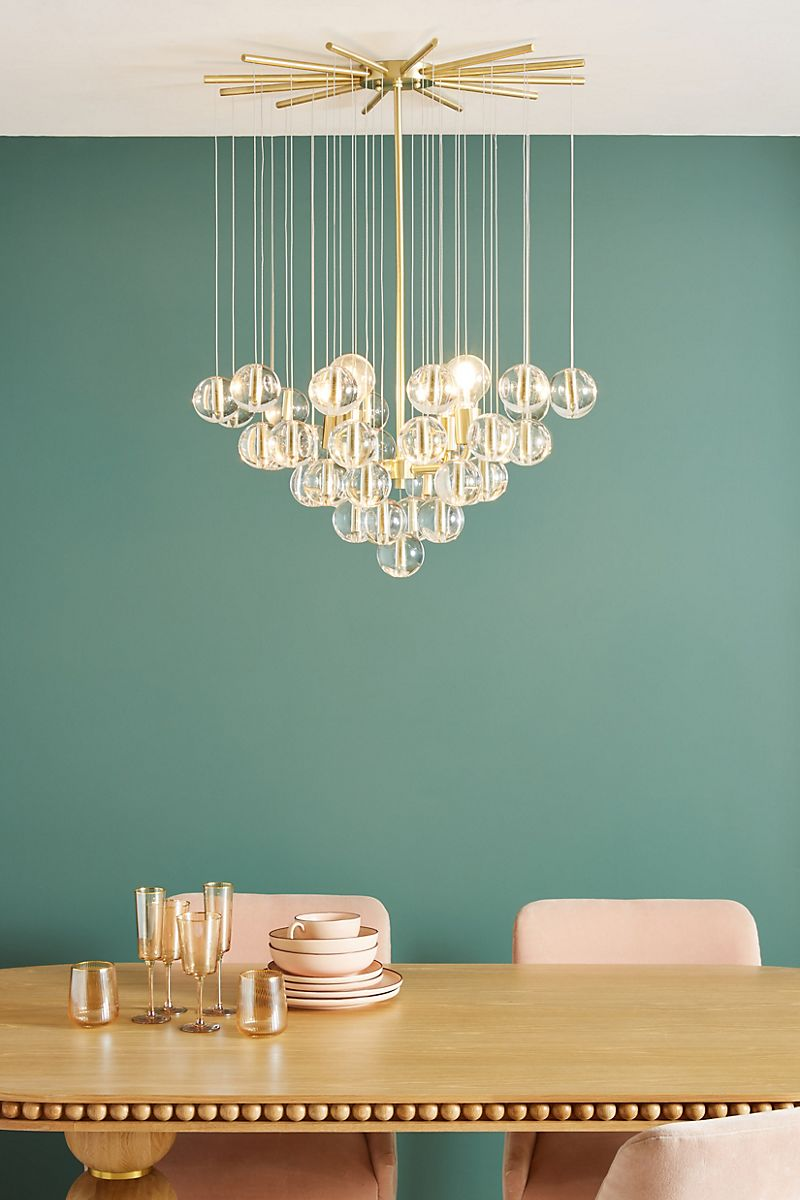 Lucite-ball-chandelier