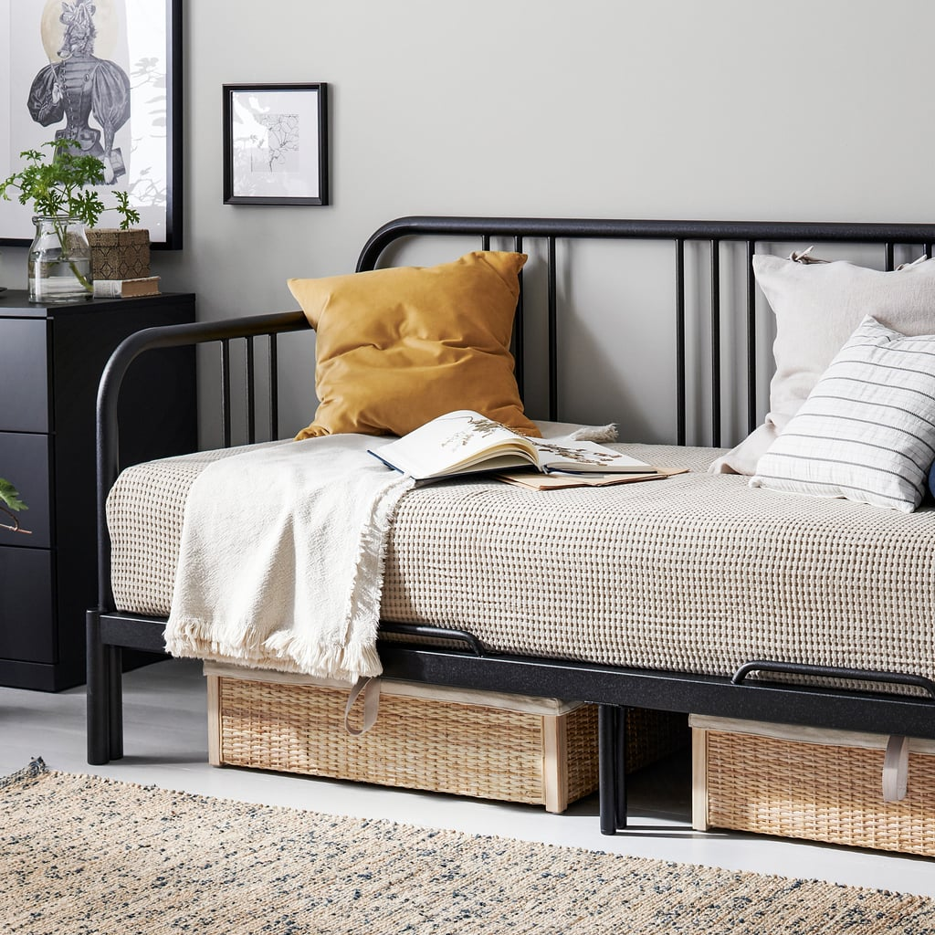 Metal daybed from IKEA
